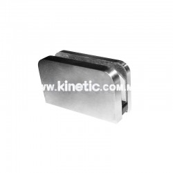 STAINLESS STEEL GLASS CLIP 80 x 46 MM