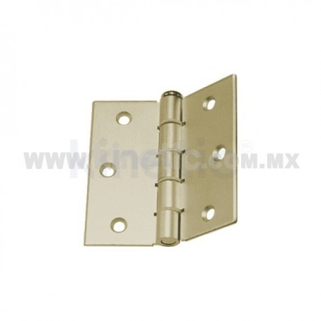 DOOR HINGE 3 x 3 BEIGE FINISH