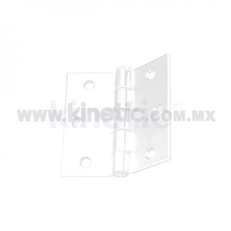 DOOR HINGE 3 x 3 WHITE FINISH