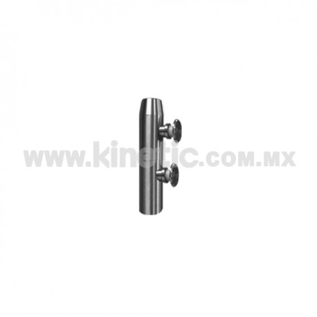 STAINLESS STEEL POST 41 x 255 MM WITH BUTTON HEADS
