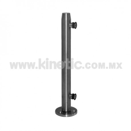 BASTONCILLO ACERO INOXIDABLE 41 x 750mm Y 9.5 MM DE BASE