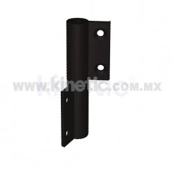 WINDOW HINGE, LEFT PAIR, BLACK FINISH