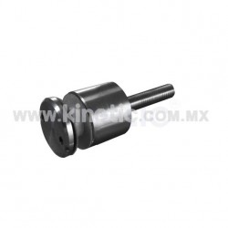 ESPACIADOR INOX. 32 X 25 MM C/CHAP. TIPO NARIZ