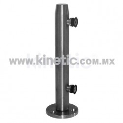 STAINLESS STEEL POST 41 x 750 MM AND 9.5 MM BASE