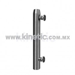 STAINLESS STEEL POST 41 x 450 MM WITH BUTTON HEADS