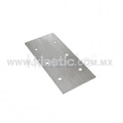 PLACA EXTENSION PARA ALETA 352MM CON 3 BARRENOS