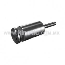 ESPACIADOR INOX. 32 X 44 MM C/CHAP. TIPO NARIZ