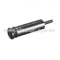 ESPACIADOR INOX. 32 X 101 MM C/CHAP. TIPO NARIZ