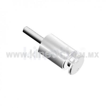 ESPACIADOR ALUMINIO DE 32X101 MM C/CHAPETON TIPO NARIZ