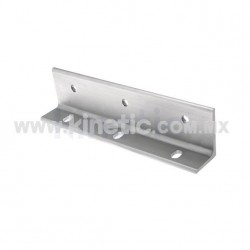 ALUMINUM FIN BRACKET 300 MM, 3 HOLES, 12.7 MM FIN