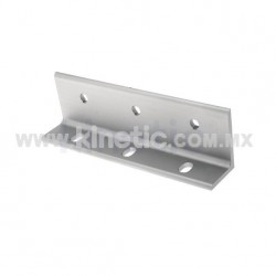 ALUMINUM FIN BRACKET 250 MM, 3 HOLES, 12.7 MM FIN