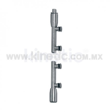 STAINLESS STEEL PIVOT POLE 2 PIECES TO FLOOR & CEILING (SPEEDY)