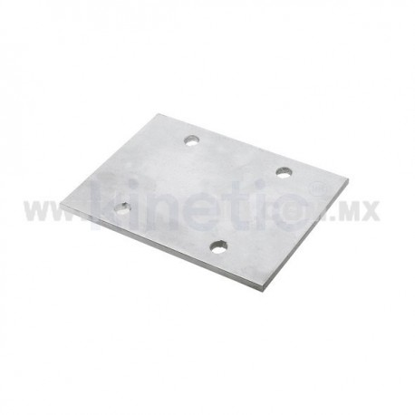PLACA EXTENSION ALUMINIO 169 MM, 2 BARR, PARA ALETA 250 MM