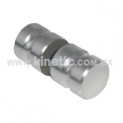DOOR KNOB 32MM DIAMETER NATURAL MATTE FINISH
