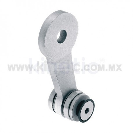 ALUMINUM SPIDER FITTING 128MM 1 WAY WITH CUSHION CONNECTOR