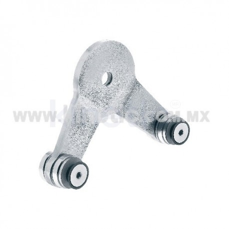 STAINLESS STEEL SPIDER FITTING 170MM 2 WAY WITH CUSHION