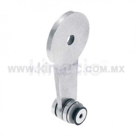 STAINLESS STEEL SPIDER FITTING 170MM 1 WAY WITH CUSHION