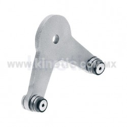 ALUMINUM SPIDER FITTING 170MM 2 WAY WITH CUSHION
