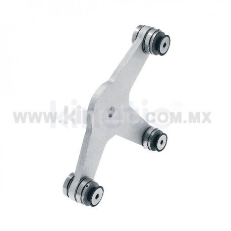 ALUMINUM SPIDER FITTING 170MM 3 WAY WITH CUSHION