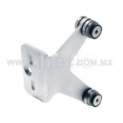 ALUMINUM FIN SPIDER FITTING 170MM 2 WAY WITH CUSHION CONNECTOR