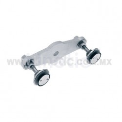 ALUMINUM SPIDER FITTING 170MM 2 WAY, STRAIGHT, WITH 1/2