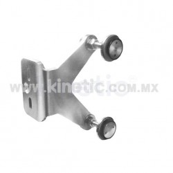 STAINLESS STEEL FIN SPIDER FITTING 170MM 2 WAY WITH 1/2