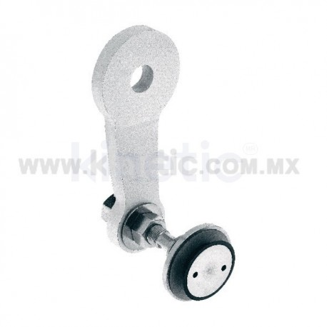ALUMINUM SPIDER FITTING 128MM 1 WAY, WITH 1/2