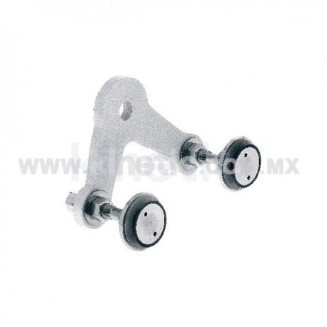 ALUMINUM SPIDER FITTING 128MM 2 WAY, WITH 1/2