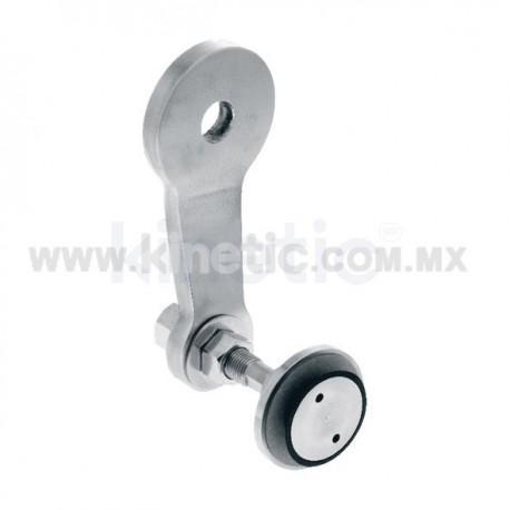 ARAÑA INOX 128 MM 1 BRAZOS CON ROTULAS VASTAGO 1/2