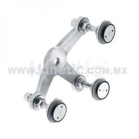 STAINLESS STEEL FITTING 128MM 3 WAY, WITH 1/2