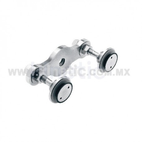 STAINLESS STEEL FITTING 128MM 2 WAY, STRAIGHT, WITH 1/2