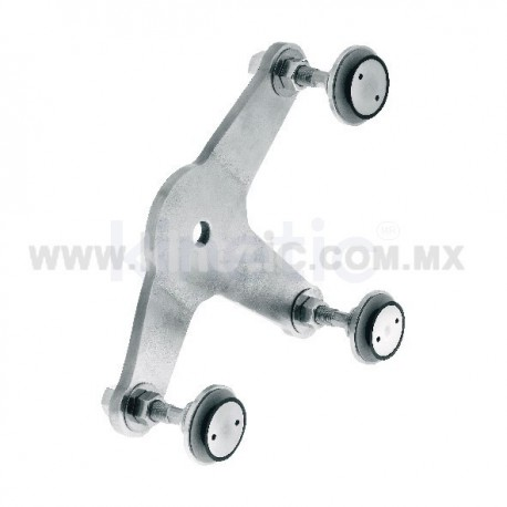 STAINLESS STEEL FITTING 170 MM 3 WAY, WITH 1/2