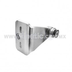 STAINLESS STEEL FIN SPIDER FITTING 170MM 1 WAY WITH CUSHION CONNECTOR