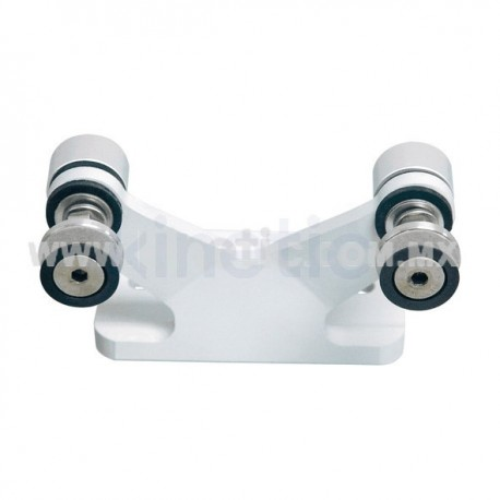 ALUMINUM INTERIOR SPIDER FITTING 128MM 2 WAY FOR FIN MOUNT WITH ALLEN BOLT