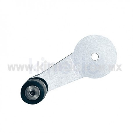 ALUMINUM INTERIOR SPIDER FITTING 128MM 1 WAY WITH FLAT HEAD