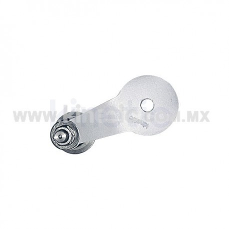 ALUMINUM INTERIOR SPIDER FITTING 128MM 1 WAY WITH 1/2