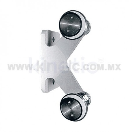 ALUMINUM INTERIOR SPIDER FITTING 128MM 2 WAY FOR FIN MOUNT WITH 1/2