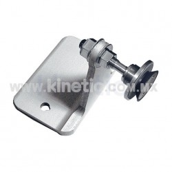 ALUMINUM INTERIOR SPIDER FITTING 128MM 1 WAY FOR FIN MOUNT WITH 1/2
