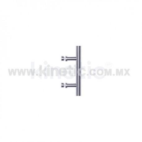 BAR GLASS DOOR HANDLE 19 X 250MM SINGLE