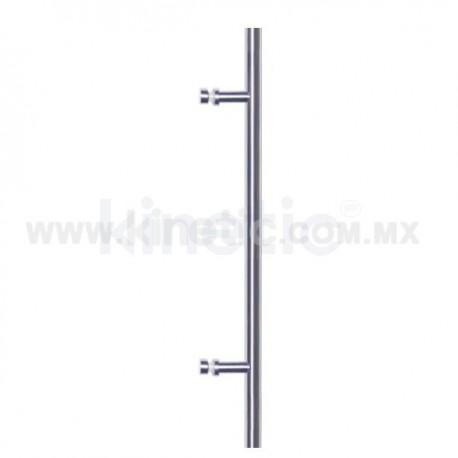 BAR GLASS DOOR HANDLE 25 X 1500 MM SINGLE