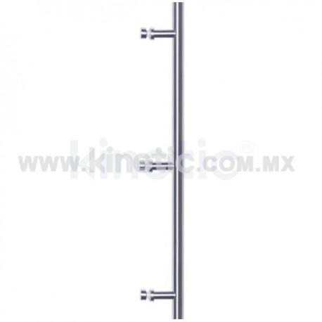 BAR GLASS DOOR HANDLE 25 X 1800 MM SINGLE