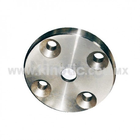 STAINLESS STEEL BASE 4 BOLTS. FOR SUPPORT ANGLE