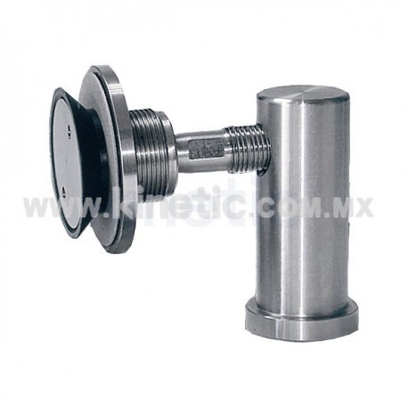 STAINLESS STEEL SHORT SUPPORT ANGLE WITH 1/2 ROUTULE