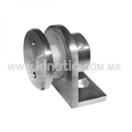 STAINLESS STEEL SHORT SUPPORT ANGLE WITH BUTTON HEAD