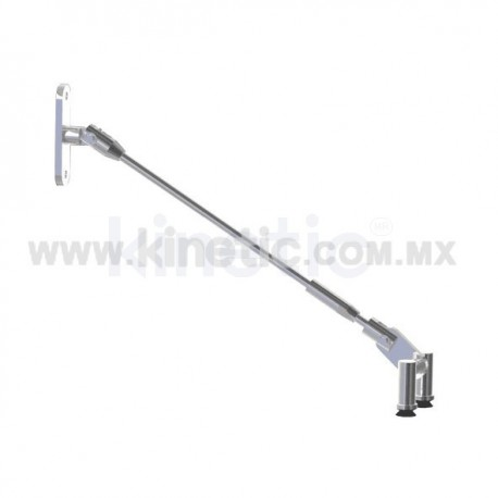 CANOPIES KIT STAINLESS STEEL 1/2 600MM DOUBLE