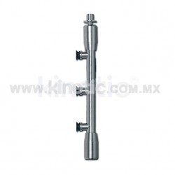 STAINLESS STEEL PIVOT POLE TO FLOOR & CEILING 2.10 M. (GERMAN DORMA)