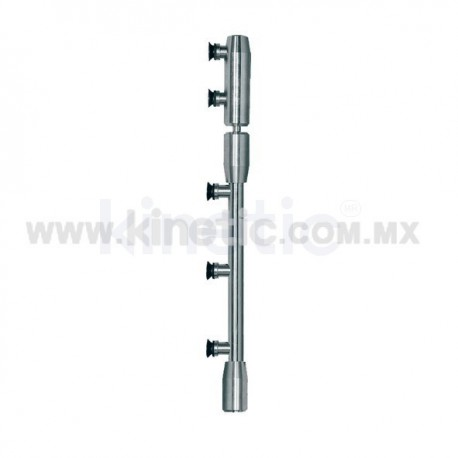 STAINLESS STEEL PIVOT POLE TO LINTEL 2.10 M. (GERMAN DORMA)